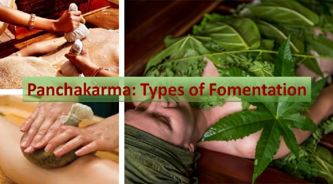 Five fomentation types
