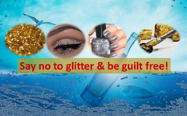 Say no to glitter and be guilt free