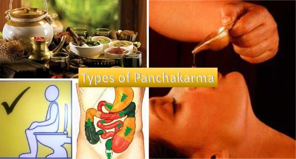 Panchakarma types