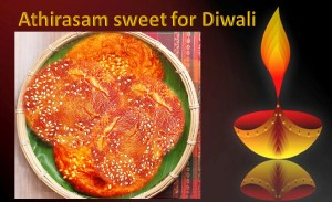 Athirasam sweet for Diwali
