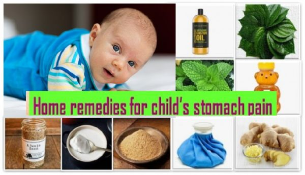 Remedies for kids stomach pain