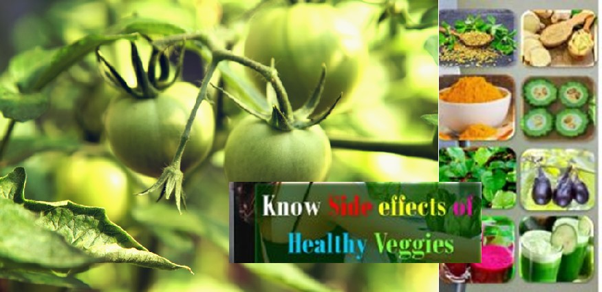 Side effects of healthy vegetables