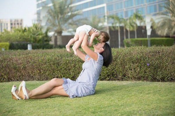 Parent child playtime bonding