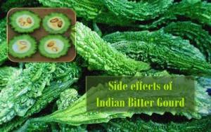 Side effects of bitter gourd