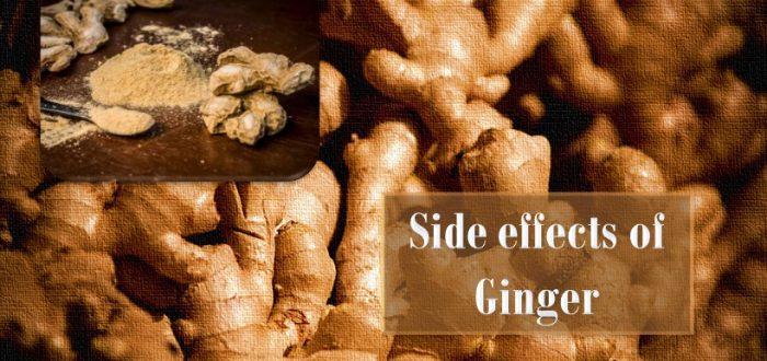 Side effect of ginger