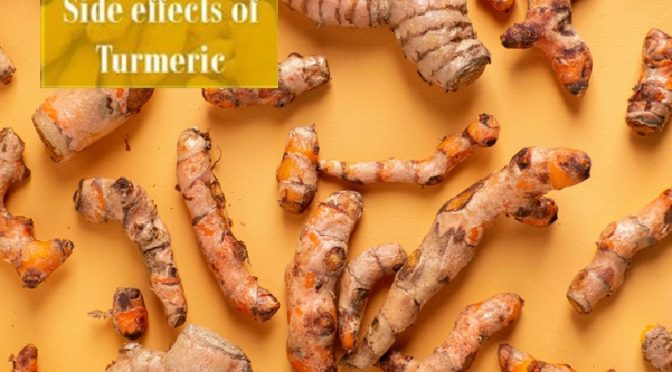 Side effect of turmeric