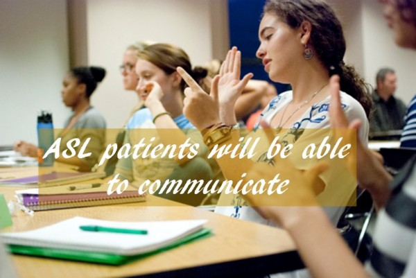 ASL patients communication