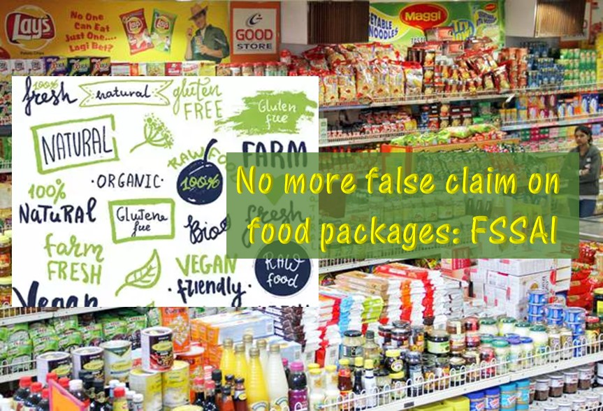 No More misleading words on food packages