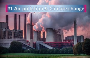 Air pollution and climate change
