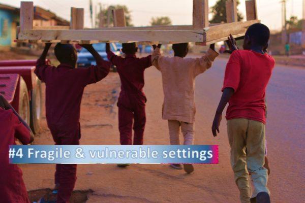 Fragile vulnerable life settings