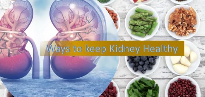 Ways to keep Kidney Health