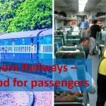 Northern railways food guidelines