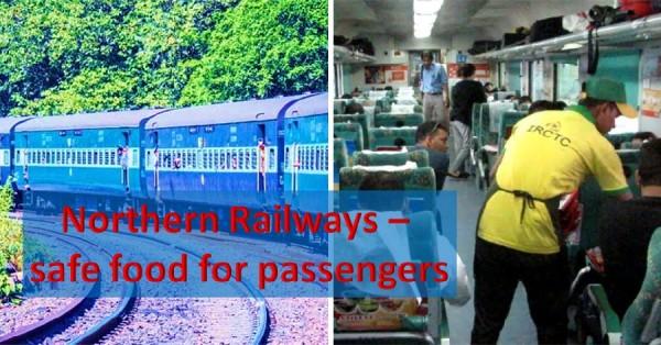 Northern railways food guidelines