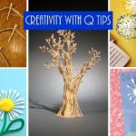 Q tips art for kids