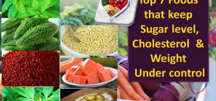 Top 7 foods blood sugar cholesterol