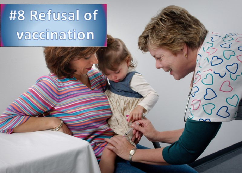 Vaccination refusal