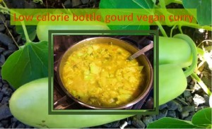 Bottle gourd weight loss curry