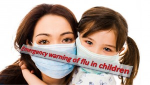Emergency flu symptoms in children