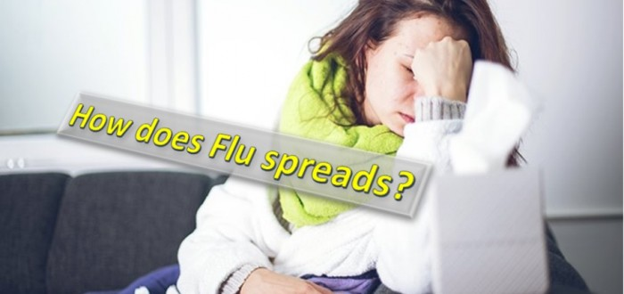 flu spreading
