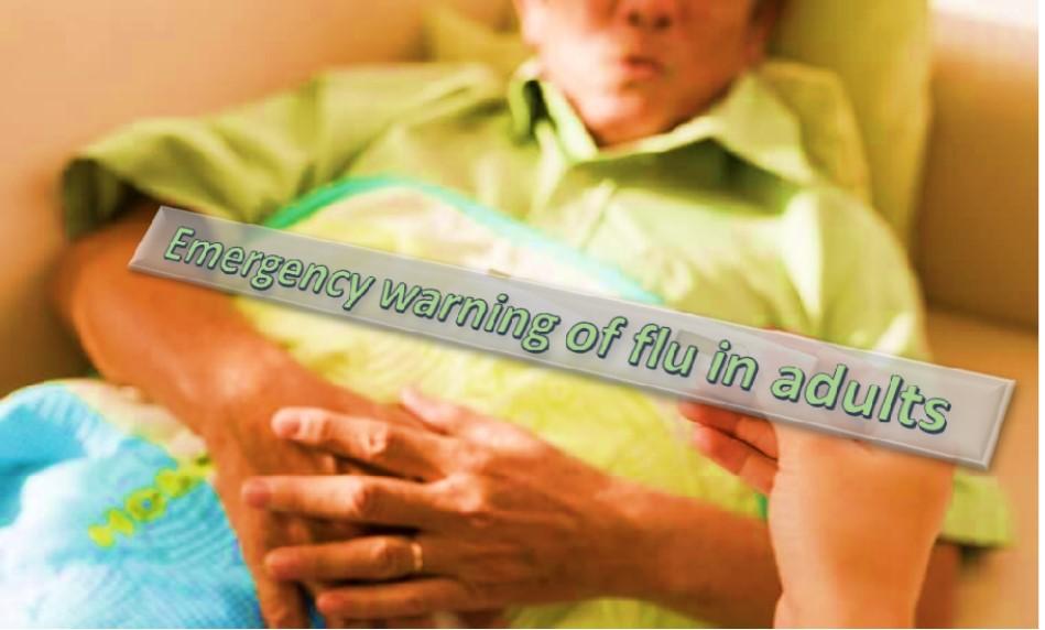 Severe flu in adults