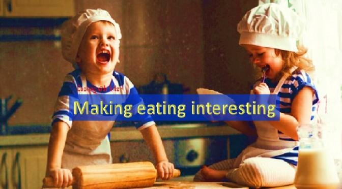 Making kids eating interesting