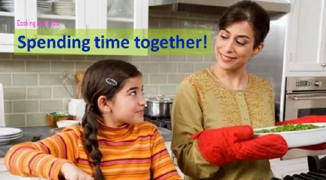Kids & parents cooking time
