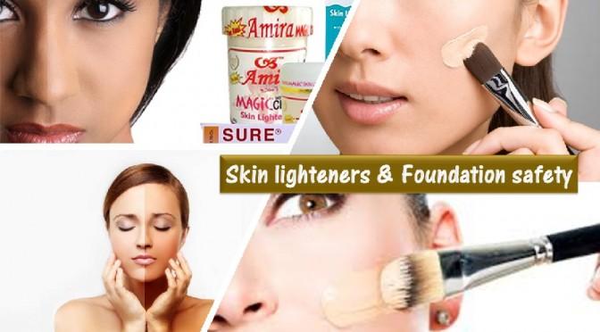 Skin lighteners safety tips