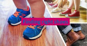 Finding right shoes