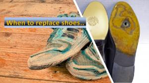 When to replace shoes