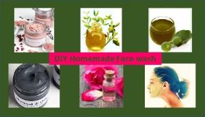 DIY homemade face wash
