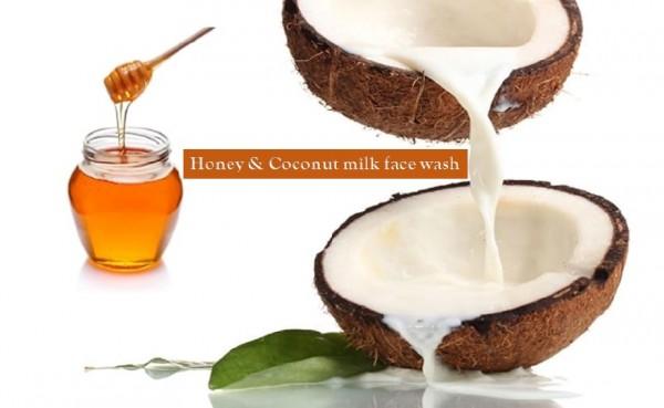 Honey coconutmilk face wash
