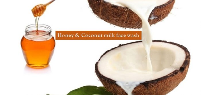 Honey and coconut milk