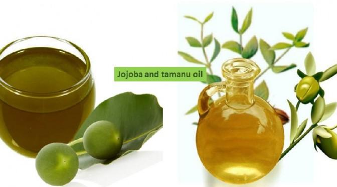 Jojoba and tamanu oil
