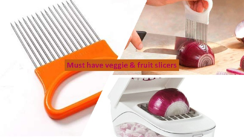 Onion slicer and cutter