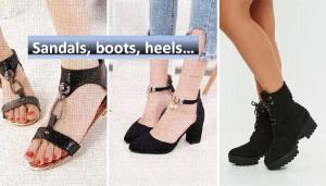 Sandals boots heels