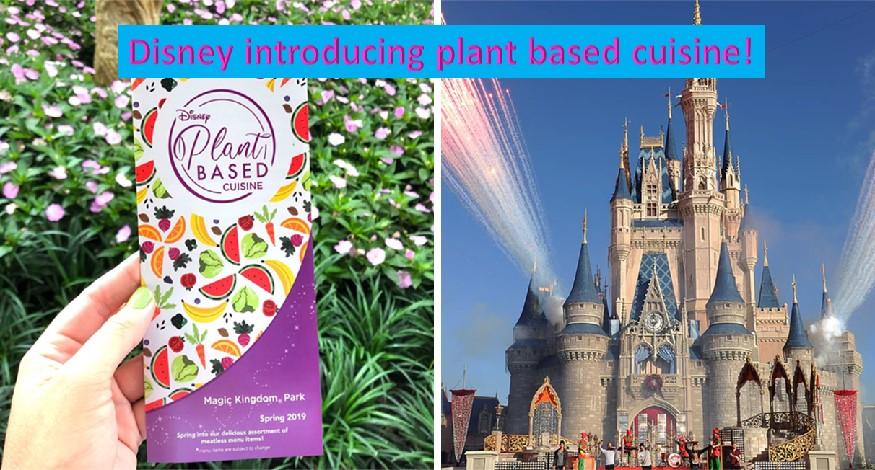 Plant based food in Disney