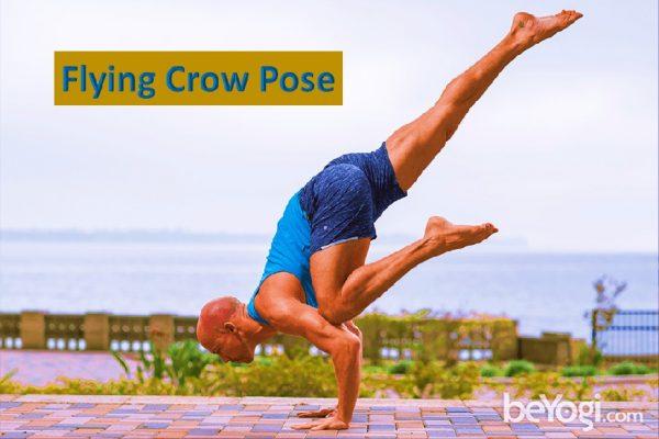 Advanced yoga pose