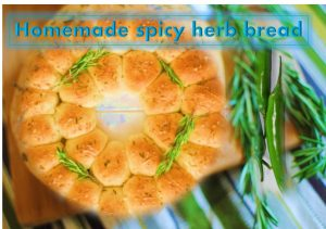 Spicy herb bread