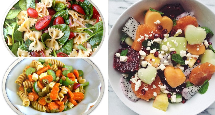 Healthy salads for kids