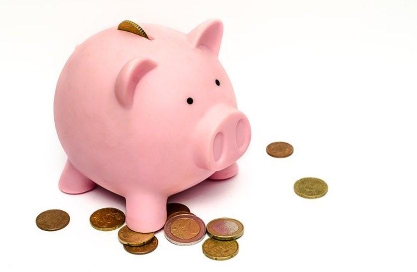 Piggy bank for child