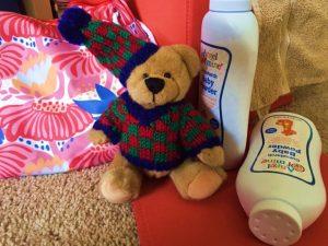 Baby powder tips