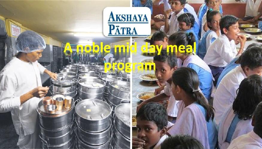 Akshaya Patra mid day meal