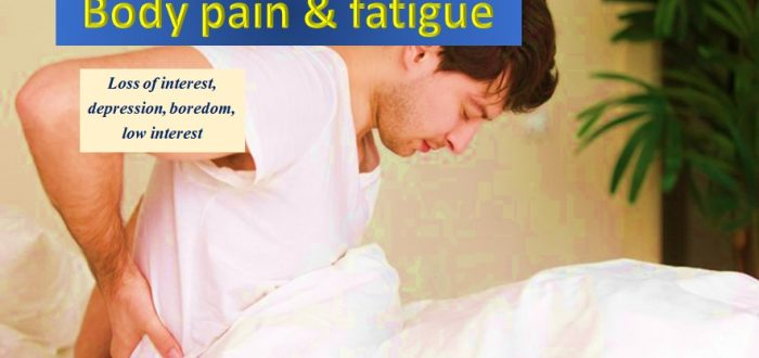 Emotions, fatigue and body pain