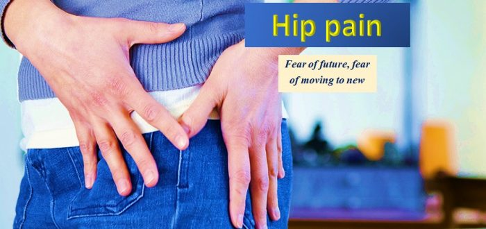 Emotions and hip pain
