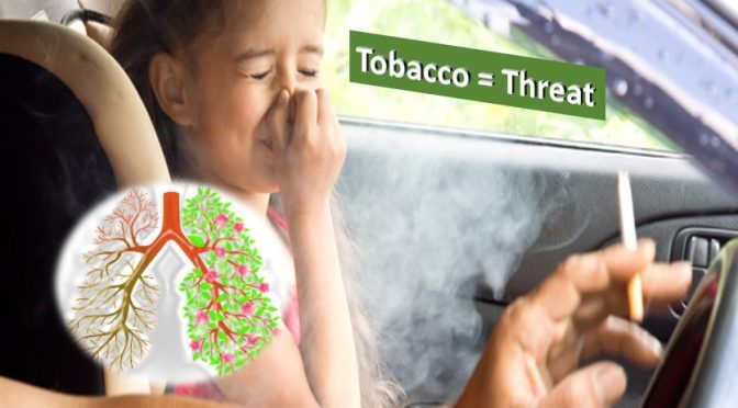 Tobacco threat for health