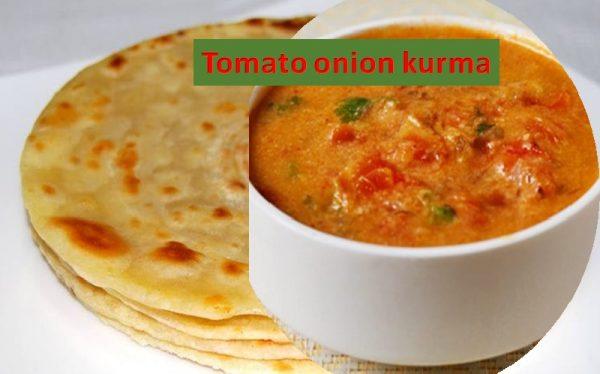 Tomato onion kurma