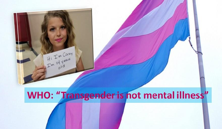 Transgender not mental illness