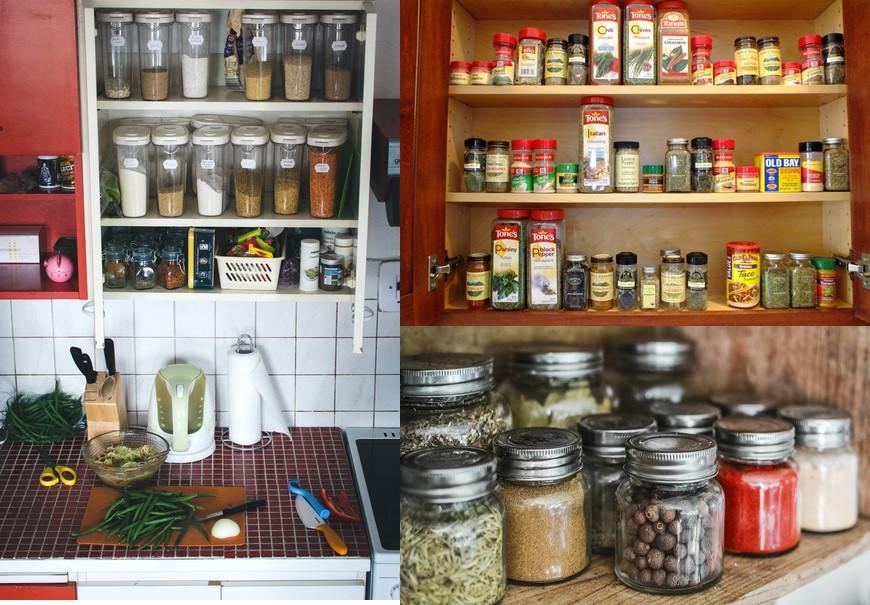 Kitchen pantry zone