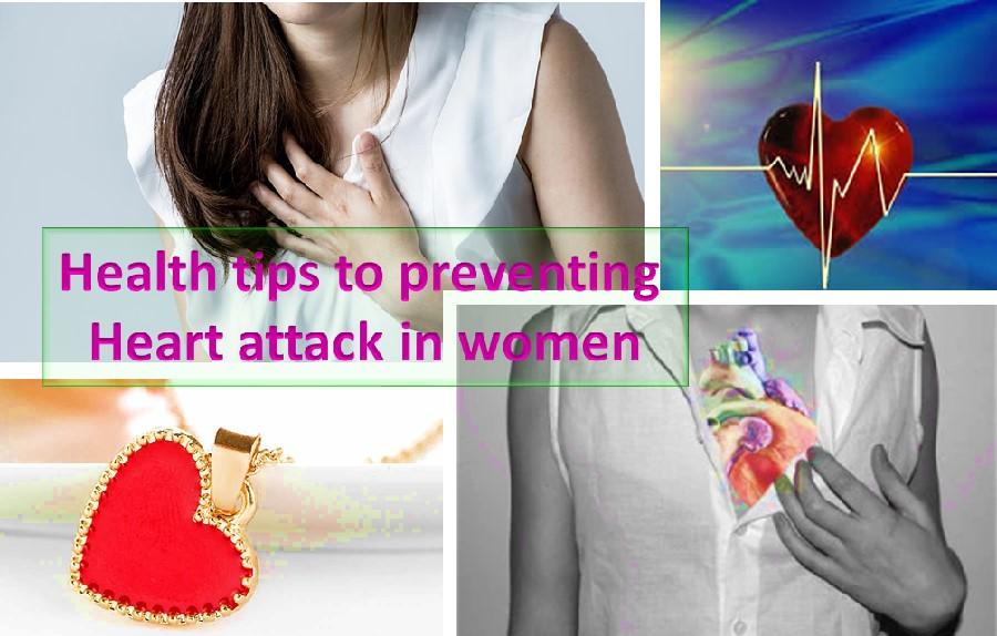 Heart attack prevention tips for women