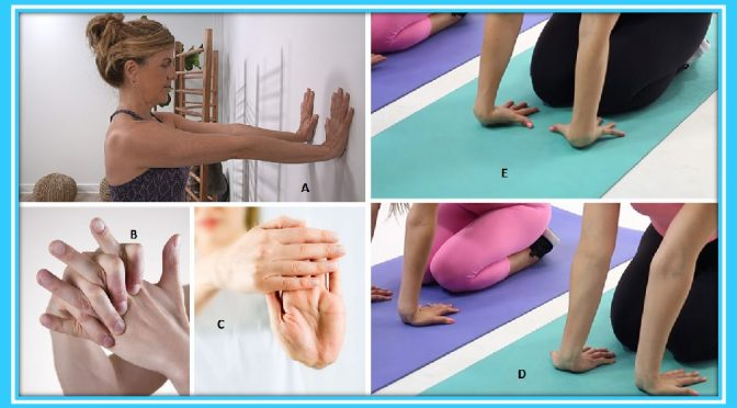 Wrist recovery exercises